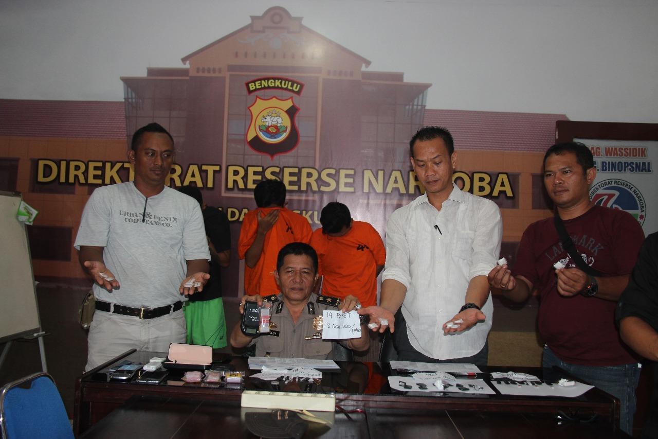Direktorat Resnarkoba Kembali Tangkap 3 Pengguna Narkoba