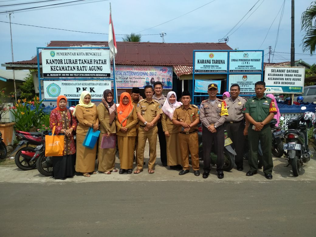 Lomba Tingkat Kelurahan Kota Bengkulu, Kasat Binmas Ikut Sebagai Penilai