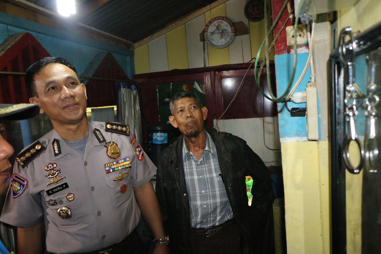 Team Baharkam Polri Pantau Poskamling Kota Bengkulu