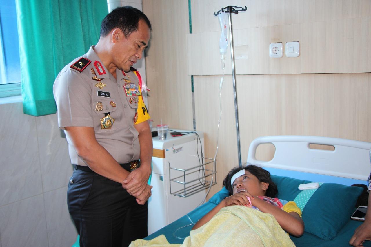 Polda Bengkulu Tanggung biaya Pengobatan Korban Keracunan