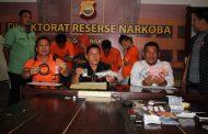 Seminggu Direktorat Narkoba Tangkap 4 Orang Penyalahguna Narkoba