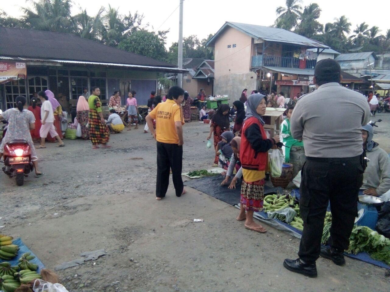Berbahaya dan Ganggu Lalu Lintas, Pedagang Pasar Pagi Ditertibkan