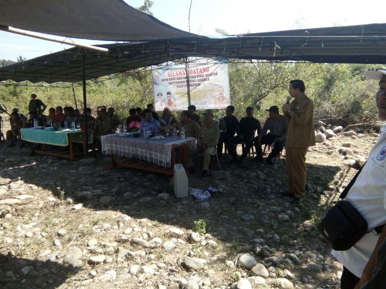Pencanangan Kampung Ikan Kabupaten Kaur