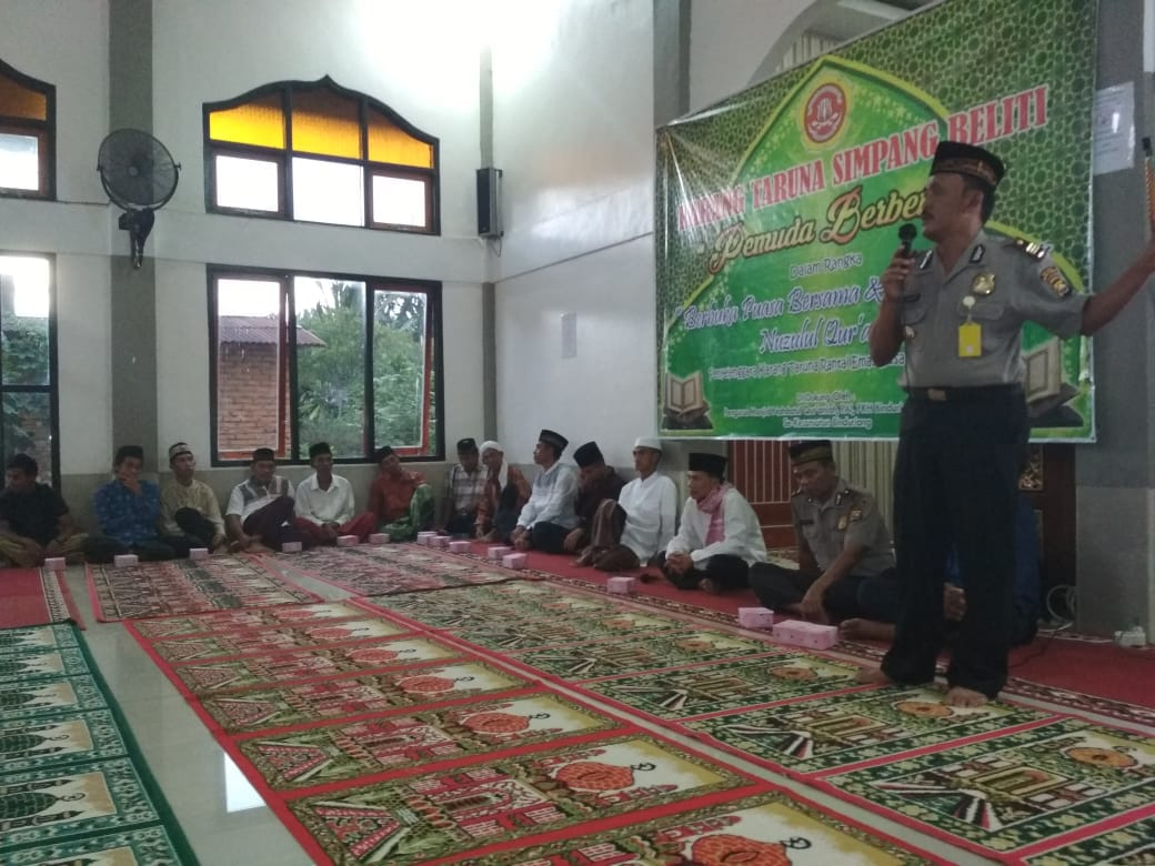 Safari Ramadhan, Polres Rejang Lebong Gelar Peringatan Nuzul Quran di Binduriang