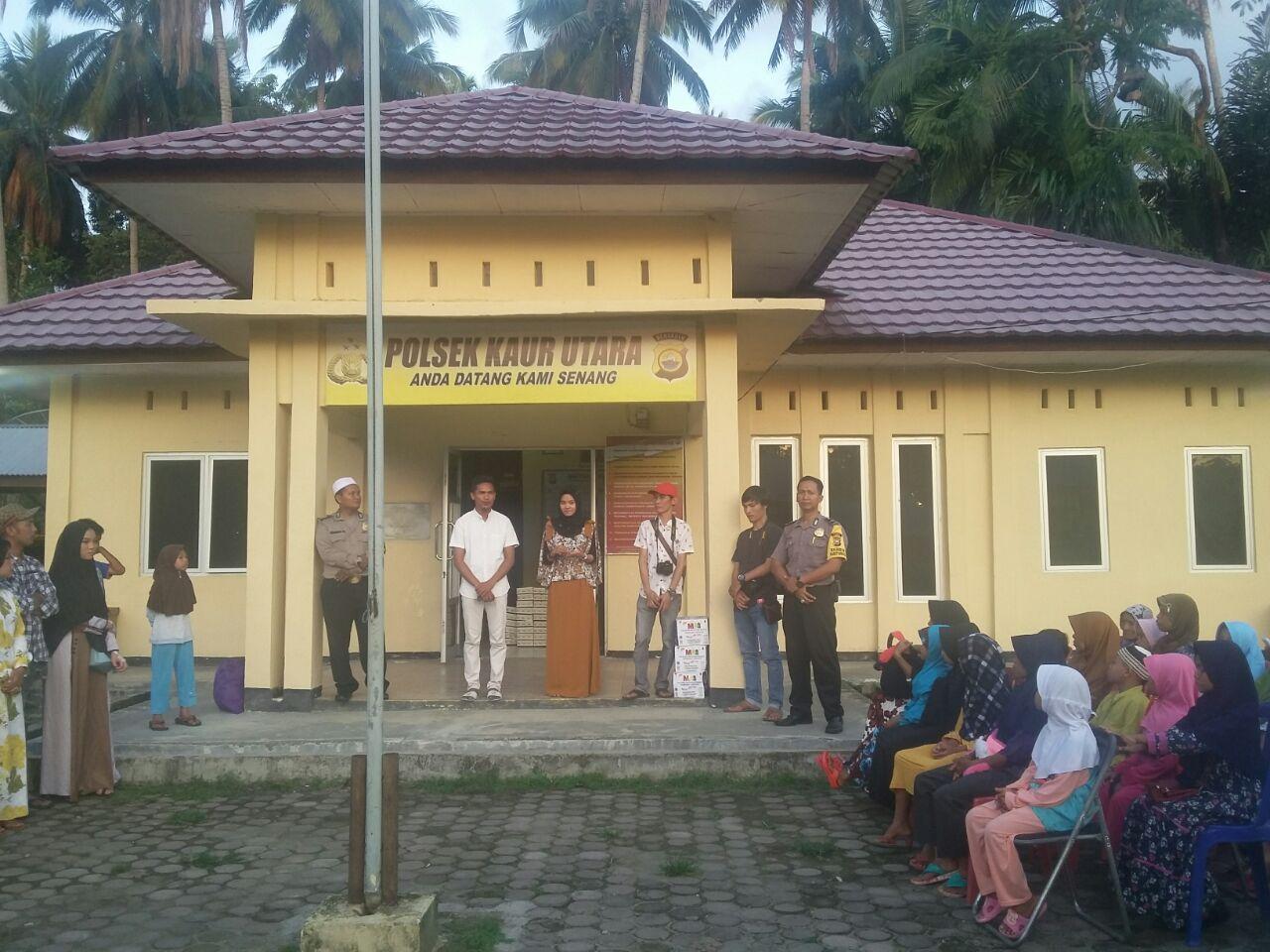 Bersama Pemuda Padang Guci, Polsek Gelar Buka Bersama dan Bagikan Takjil