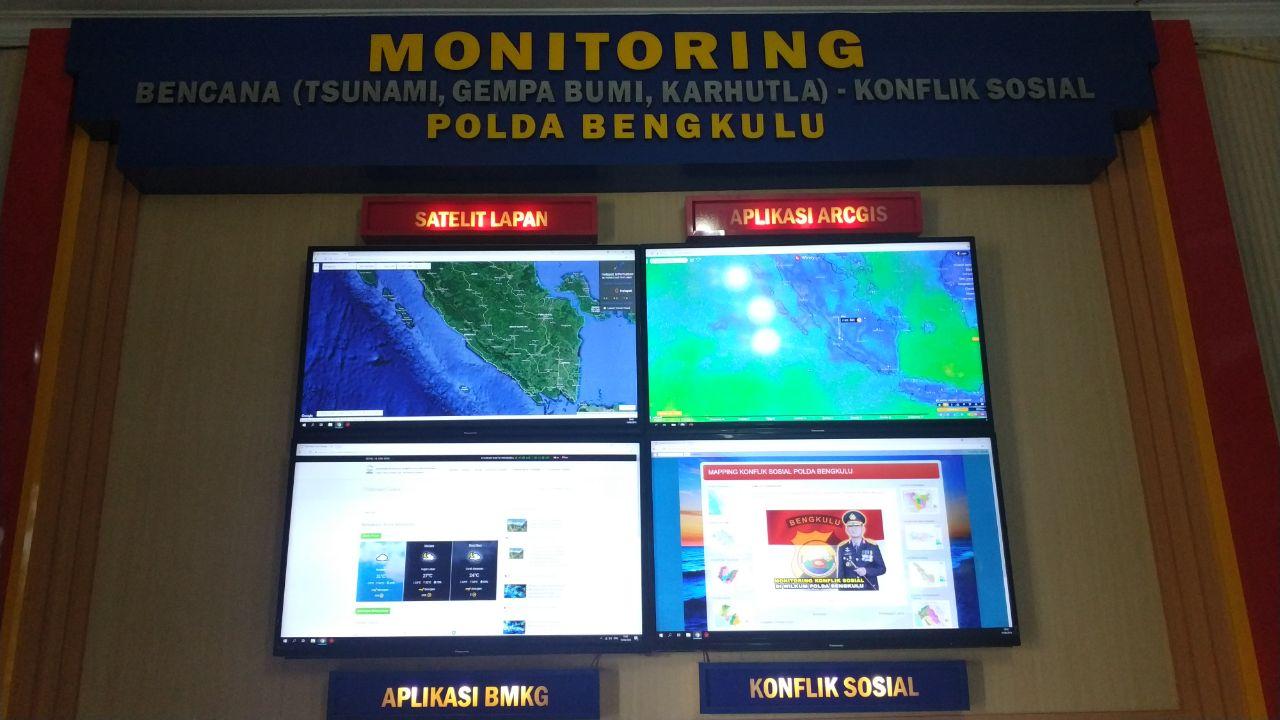 Monitoring Bencana Polda Bengkulu: Waspada Gelombang Setinggi 3 meter di Perairan Bengkulu