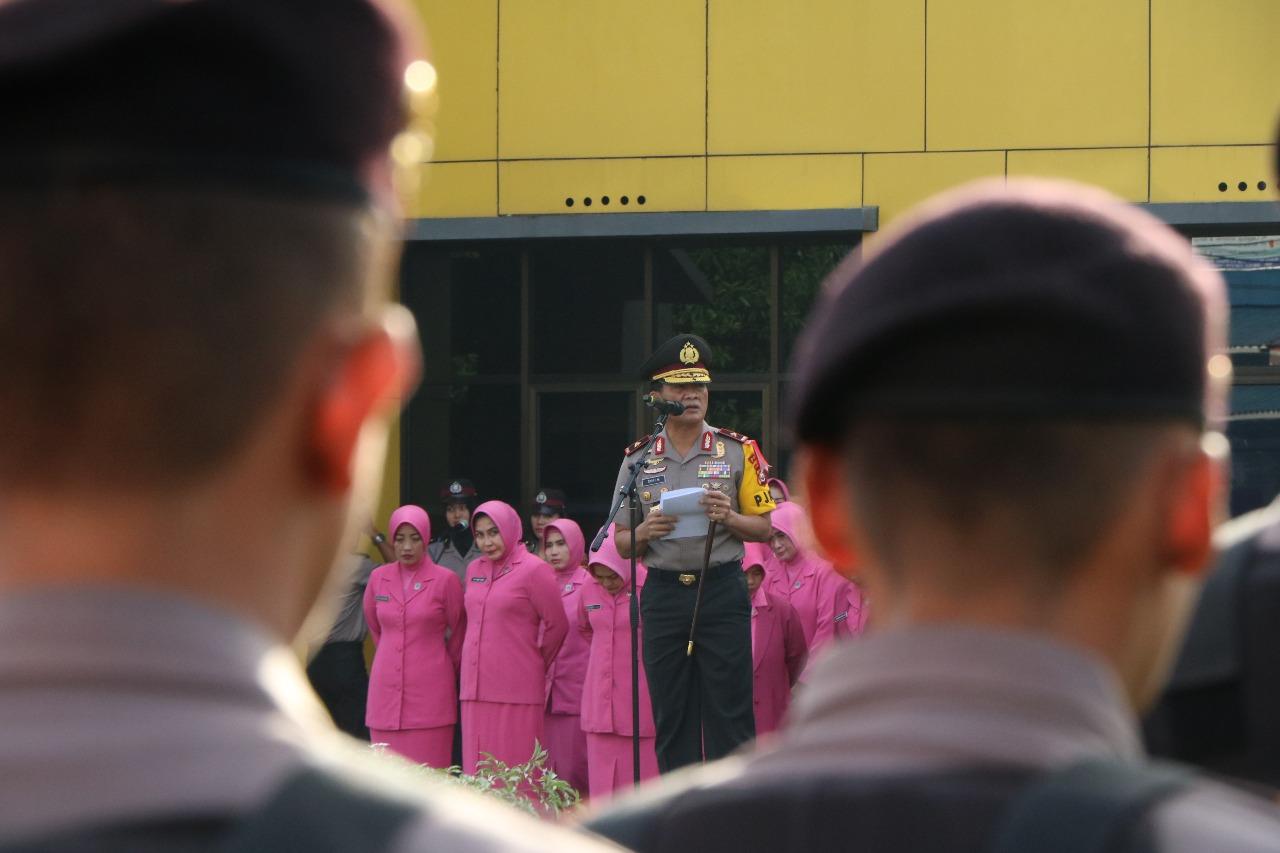 Kapolda Bengkulu Pimpin Korps Raport Kenaikan Pangkat Anggota dan ASN