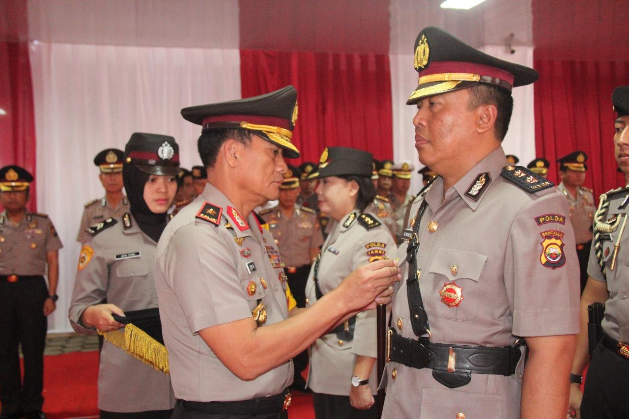 Kabid Dokkes Polda Bengkulu Berganti