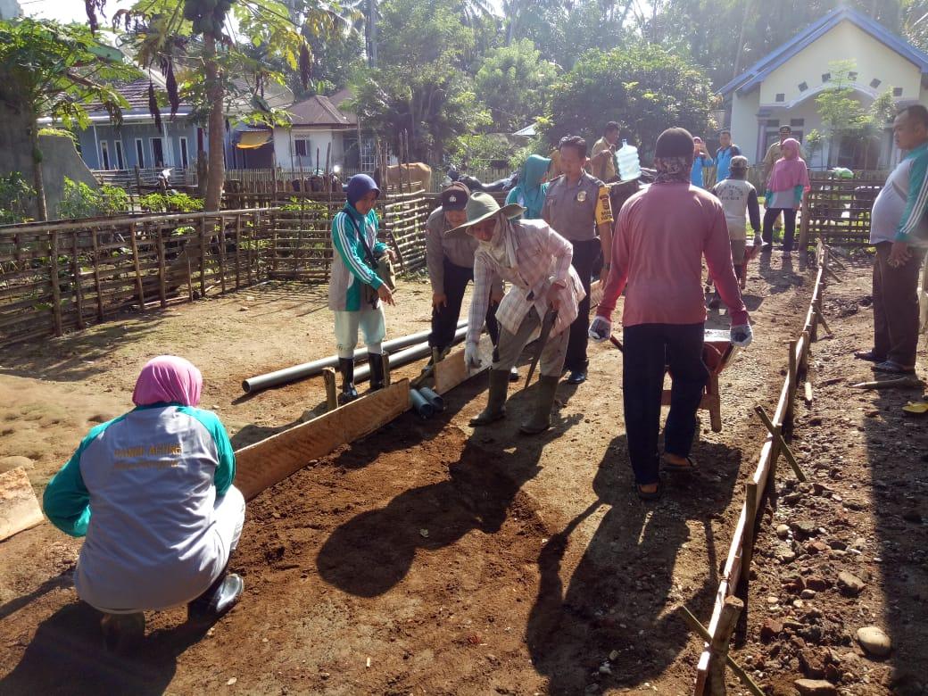 Sinergitas 3 Pilar Desa, Bersama Hadiri Titik Nol Pembangunan