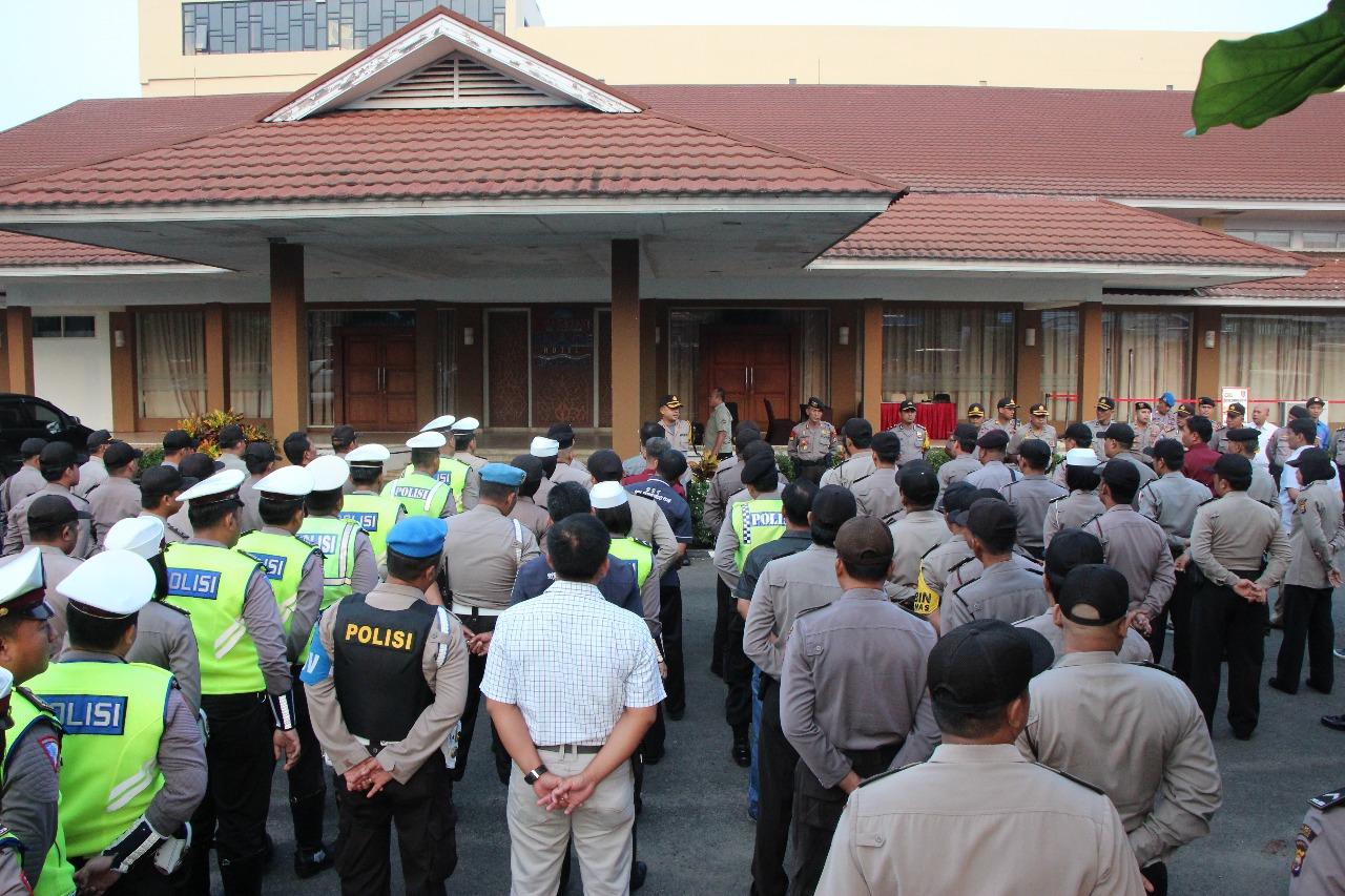 200 Personil Amankan Rapat Pleno Pilwakot Bengkulu