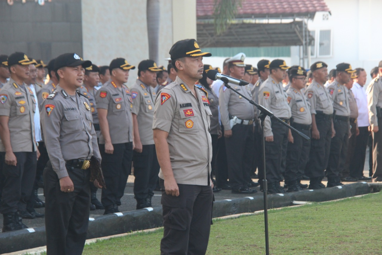 Apel Siaga May Day Polda Bengkulu