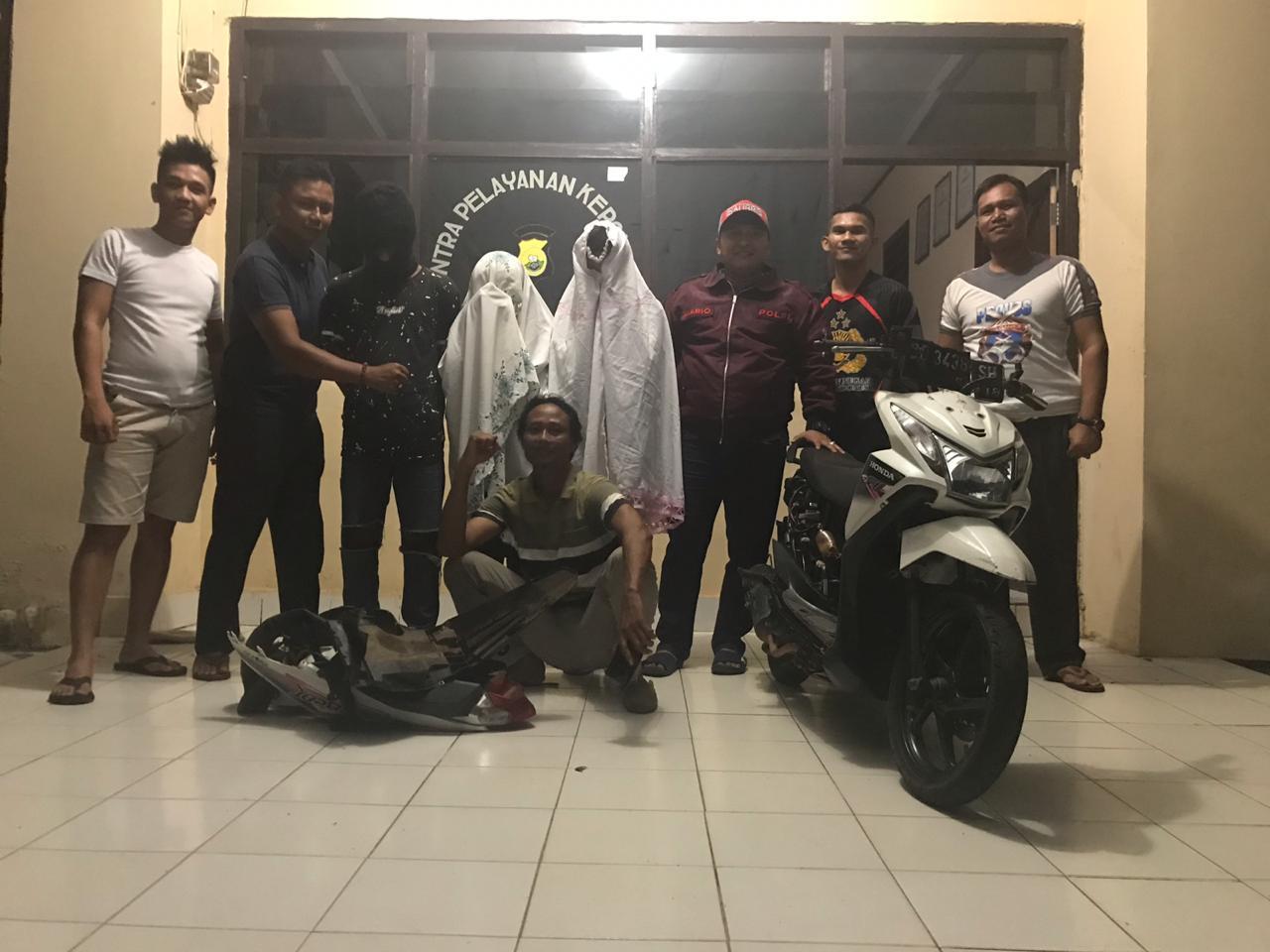 Tempo 24 Jam, 3 Pelaku Curanmor Ditangkap Polisi