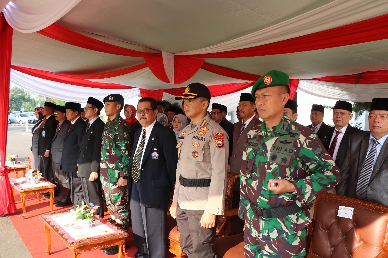 Irwasda Polda Bengkulu Ikuti Upacara Hari Kebangkitan Nasional di Pemprov Bengkulu
