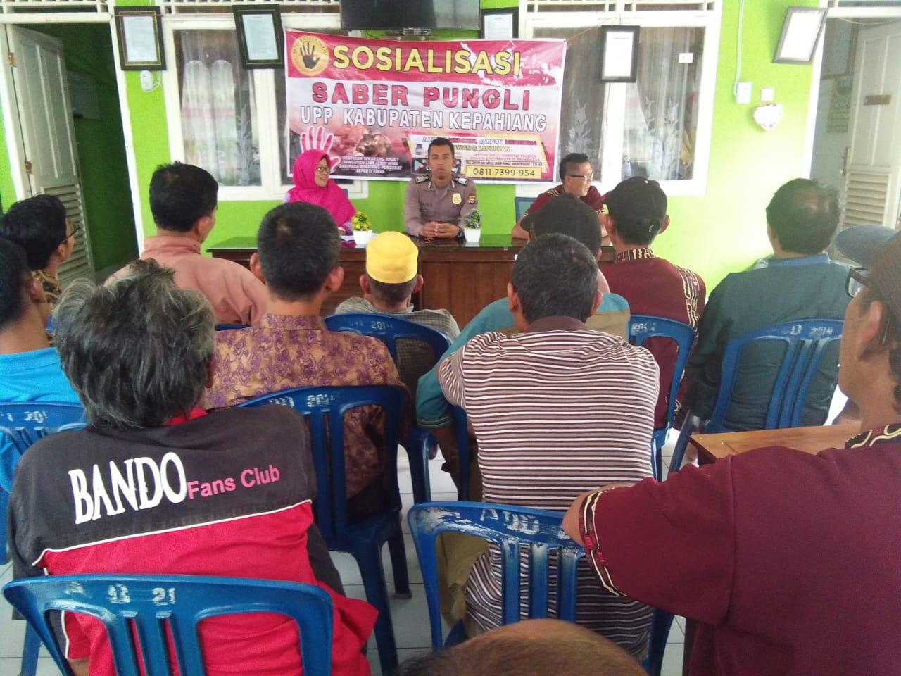 Sosialisasi Saber Pungli, UPP Kepahiang Giatkan Pencegahan
