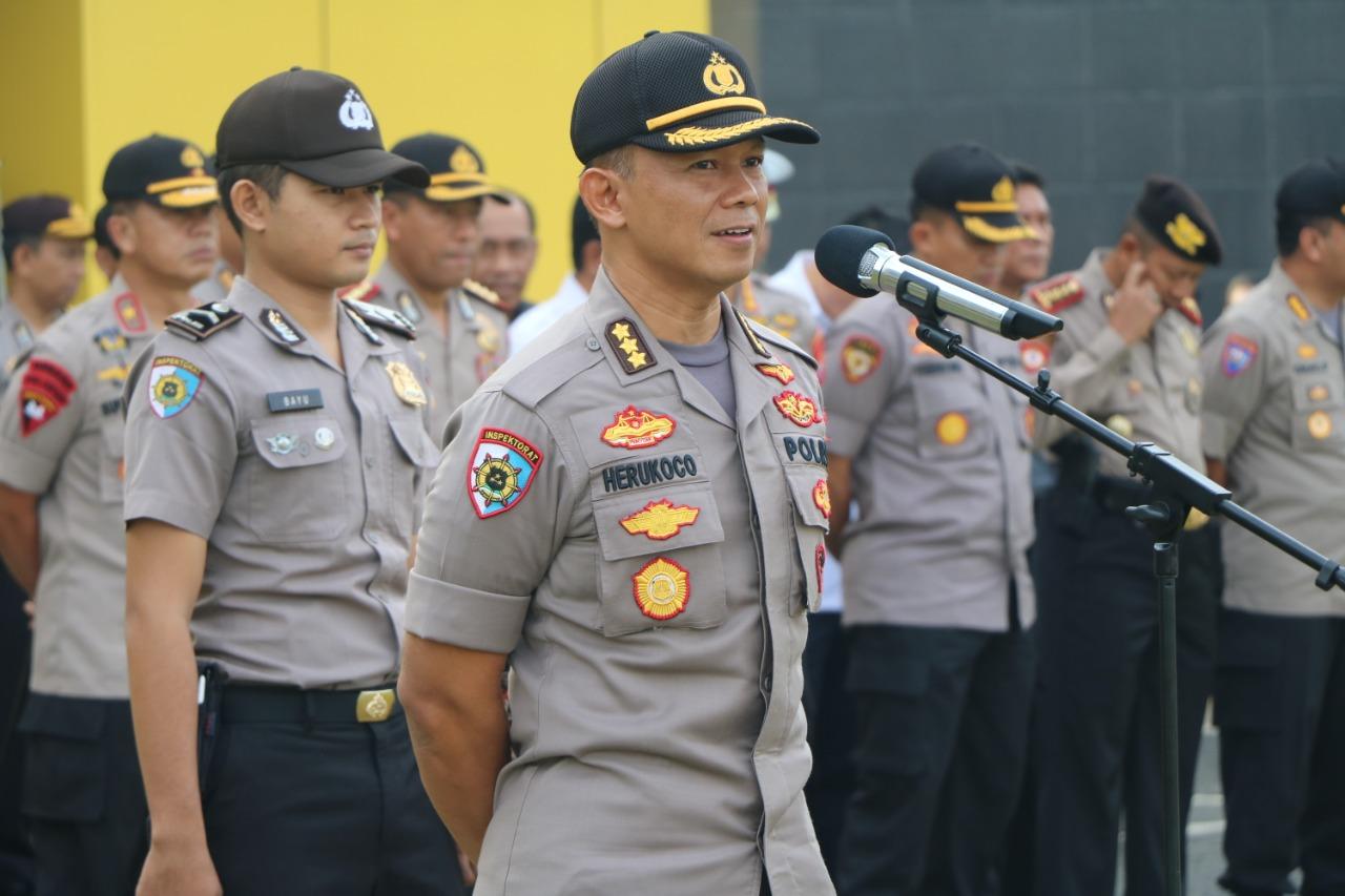 Pimpin Apel Pagi, Irwasda Polda Bengkulu Apresiasi Ops Ketupat Nala 2019