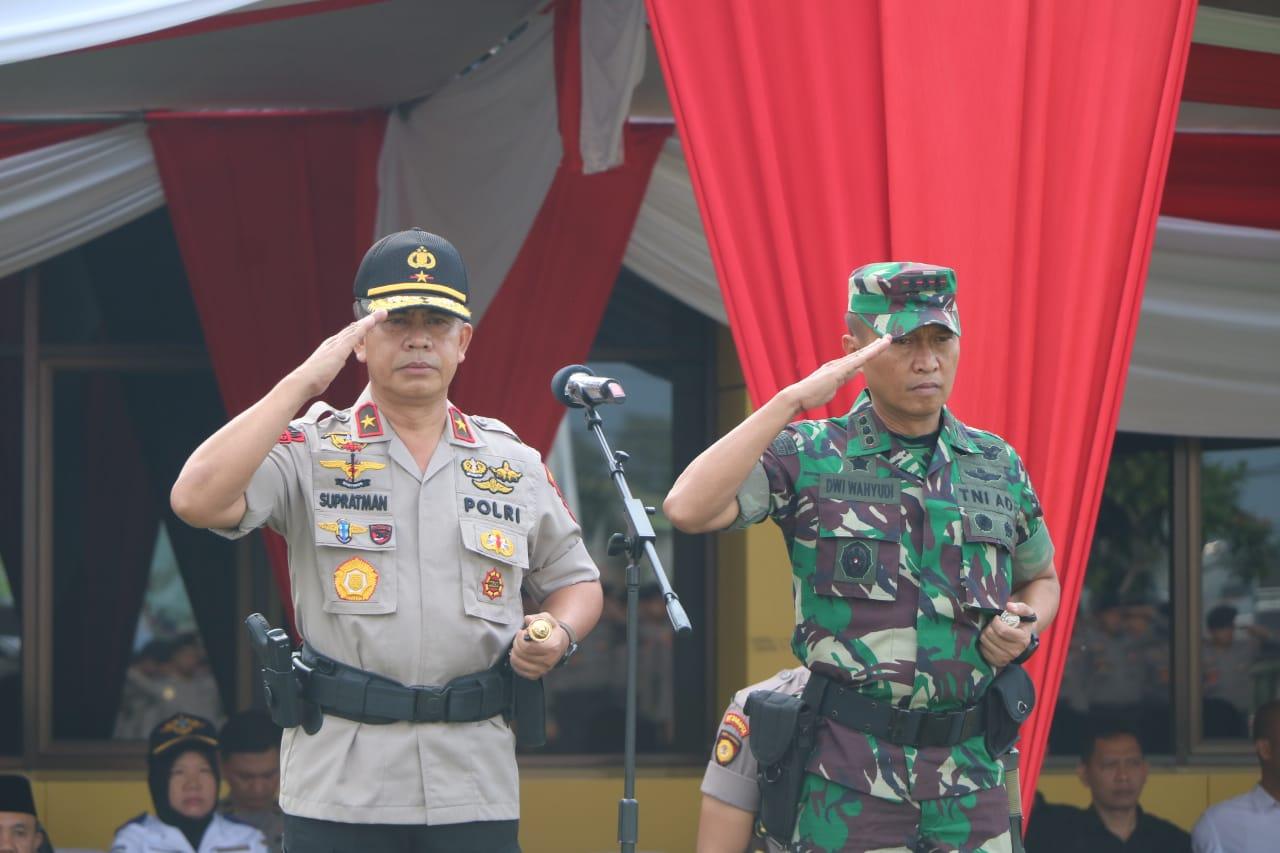 Kapolda Bengkulu; Apel Konsolidasi Sarana Ungkapan Terimakasih Keberhasilan Pengamanan Lebaran