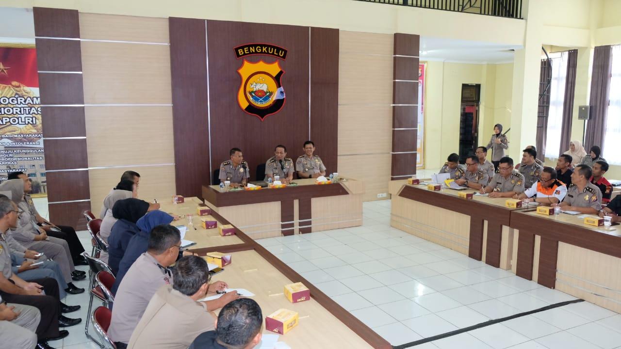 Tingkatkan Kemampuan Personel, Divisi Humas Gelar Asistensi Di Polda Bengkulu