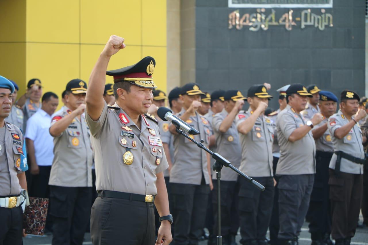 Irjen Pol Umar Septono Mantan Wakapolda Bengkulu Kunjungi Polda Bengkulu