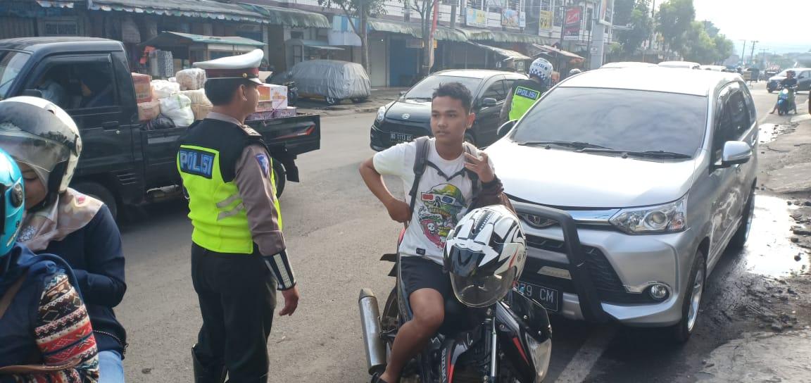 Pelanggaran Lalu lintas Didominasi Kurangnya Penggunaan Helm SNI