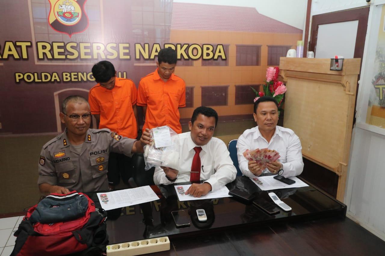Polisi Tangkap Menantu Bersama Mertua Yang Jadi Bandar Sabu