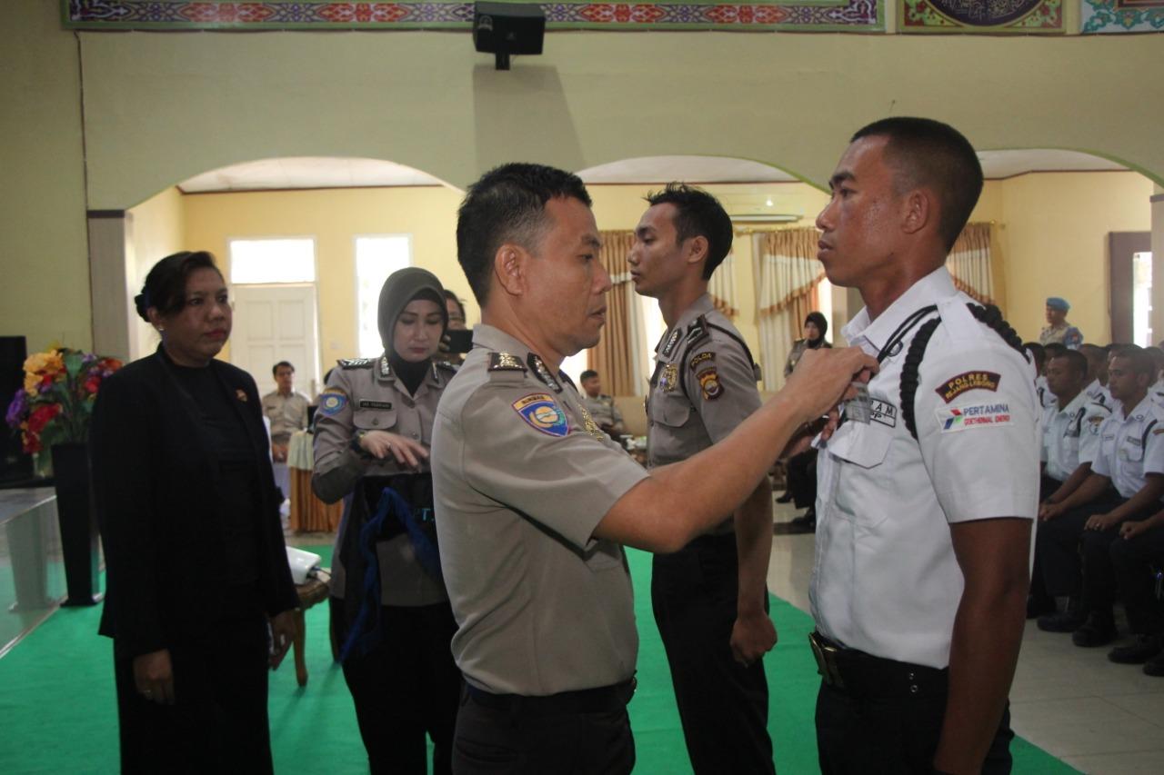 Penutupan Diksar Satpam Gelombang II Tahun 2019 Polda Bengkulu