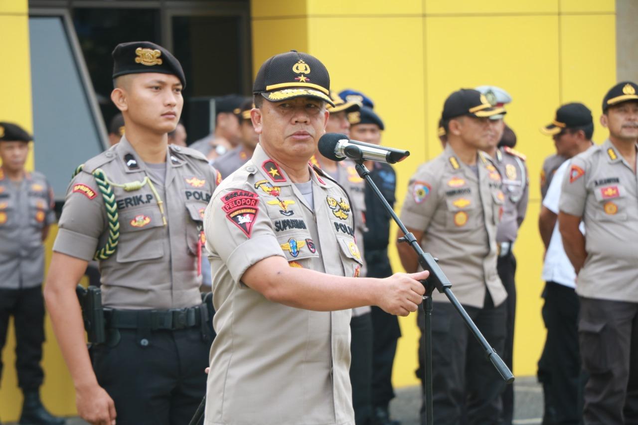 Upacara Kenaikan Tipologi dan PAM HUT Provinsi Bengkulu Sukses, Kapolda Ucapkan Terimakasih