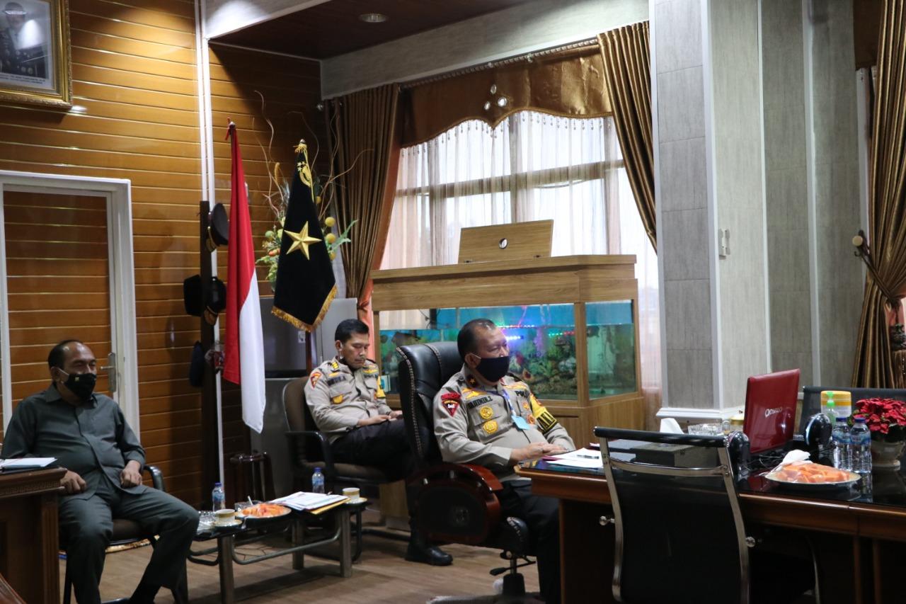 Wakapolda Bengkulu; Jajaran Kepolisian Siap Mendukung Penerapan New Normal
