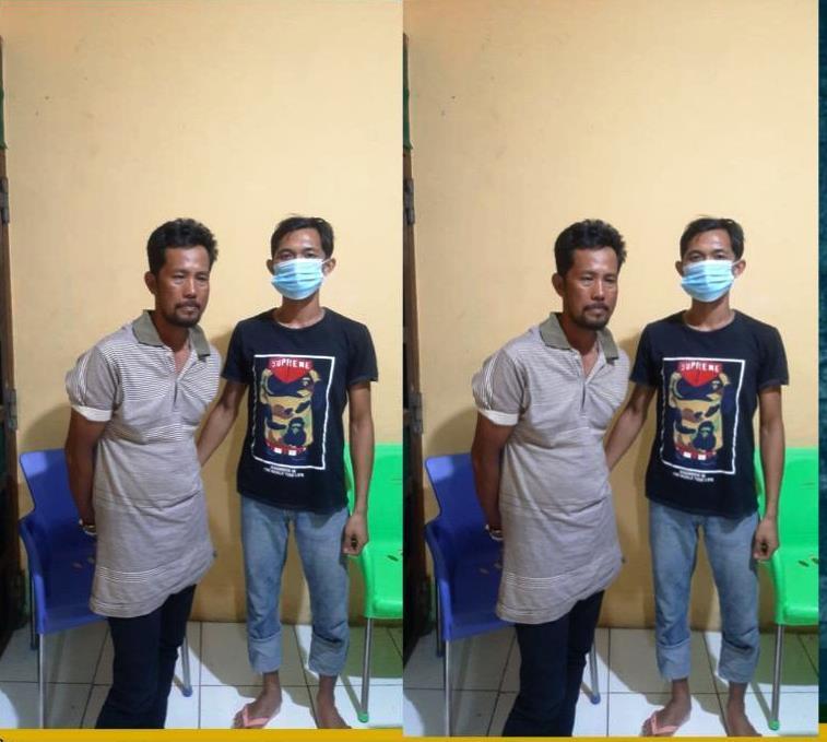 Dua Bandar Sekaligus Pengedar Sabu Ditangkap Polres BS