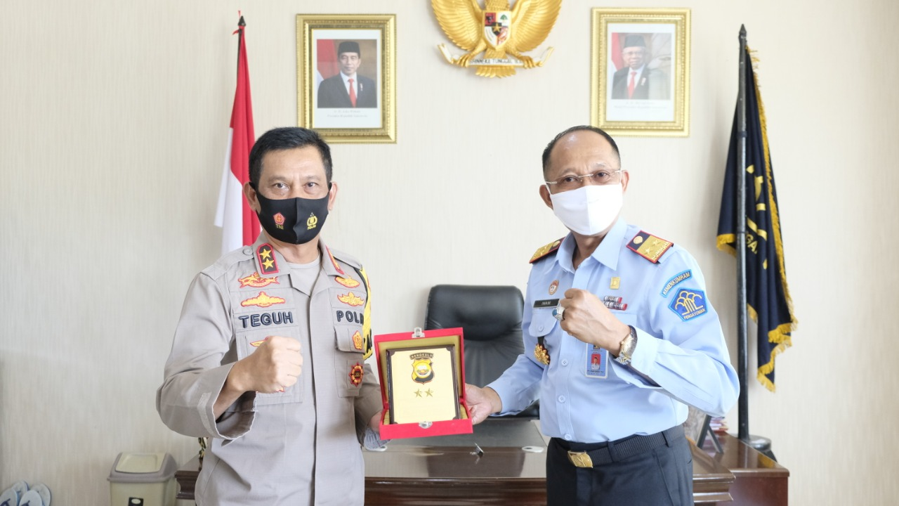 Sambut Kunjungan Kapolda Bengkulu, Kakanwil Kemenkumham Ungkap Bersama Jajaran Siap Bersinergi