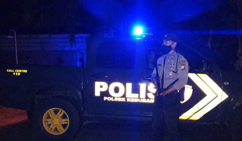 Persempit Gerak Kriminal 3C, Polsek Kedurang Rutin  Patroli Blue Light