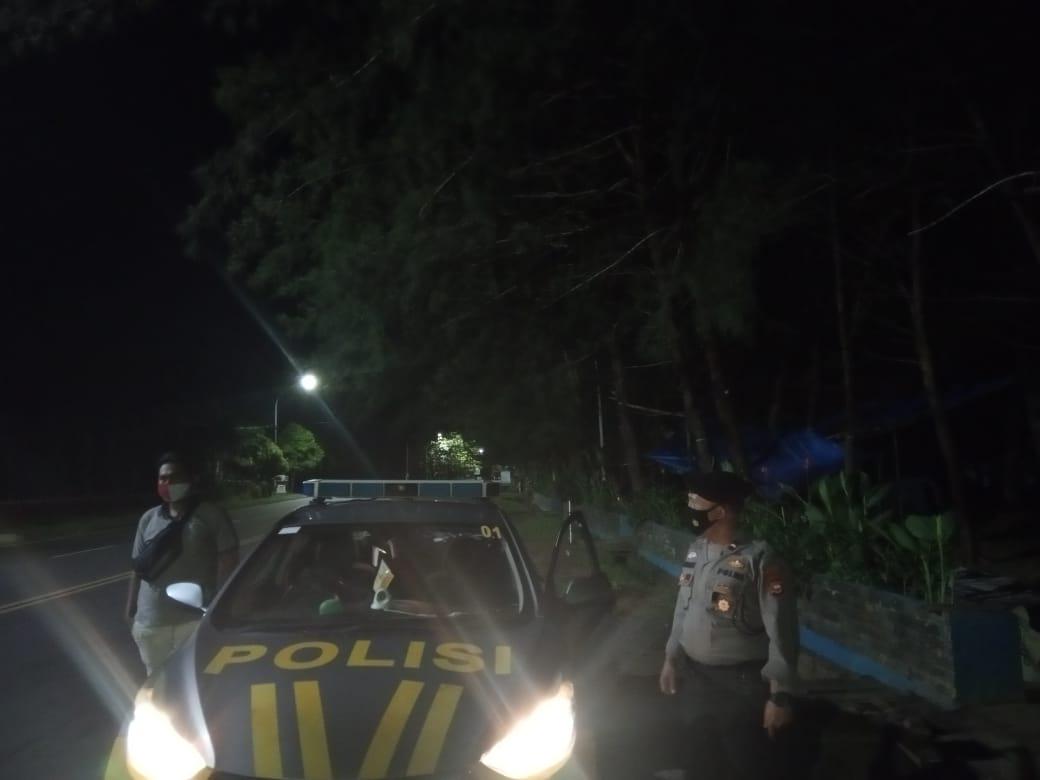 Pasca Gempa Magnitudo 5,8 SR, Polsek Ratu Samban Patroli Sepanjang Pantai dan Rumah Warga
