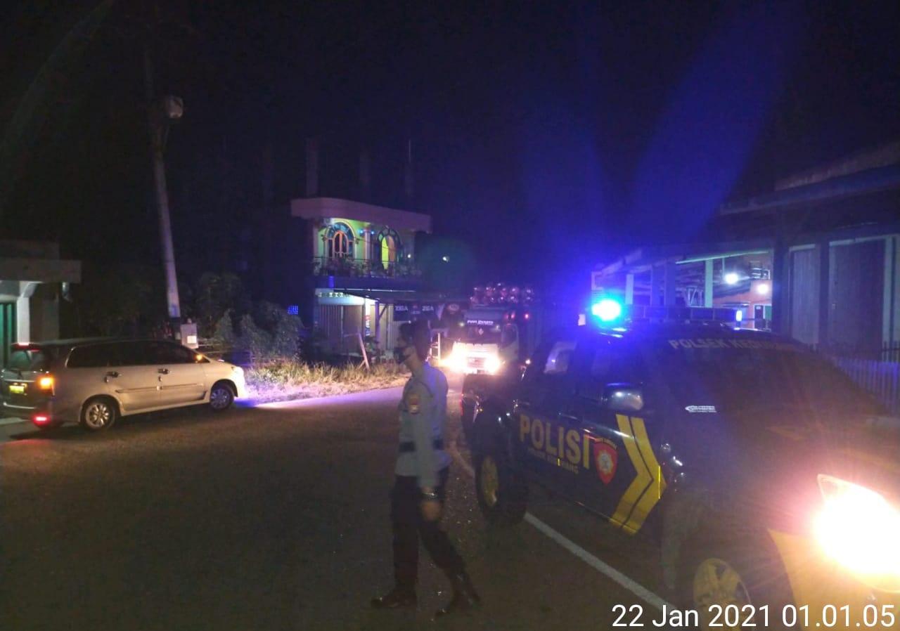 Cegah Kejahatan, Polsek Kedurang Tingkatkan Patroli Malam Hari