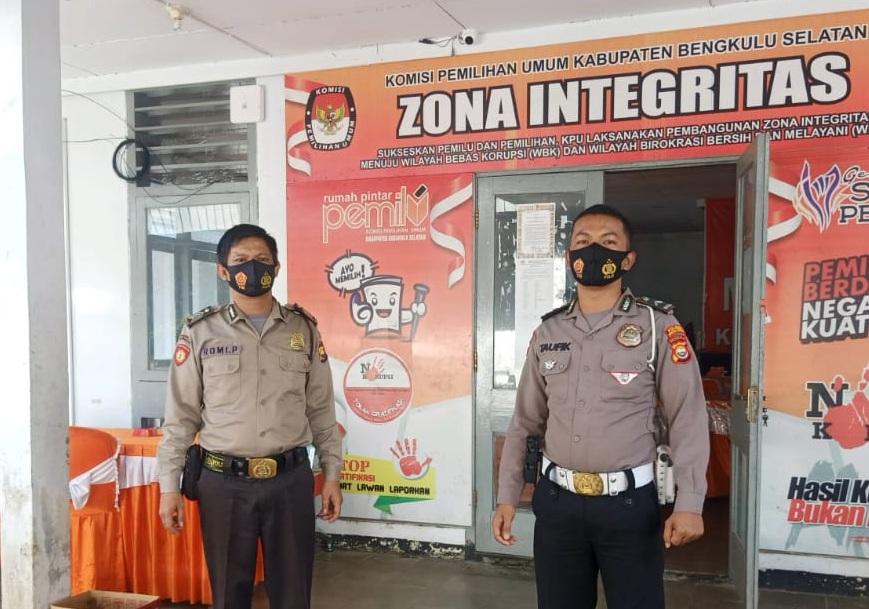 Hingga Pelantikan, Kantor Penyelenggara Pemilu Tetap Dijaga Ketat Polisi