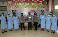 Pejabat Utama Polda Bengkulu Laksanakan Vaksinasi Tahap II