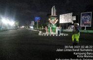 Cegah Balap Liar, Polres Bengkulu Selatan Gelar Patroli Stasioner