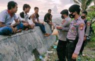 Ramai Muda-Mudi Nongkrong Tanpa Prokes Covid-19 di Pantai Abrasi, Polres MM Gelar Patroli dan Himbauan