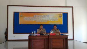 Kabidkum Polda Bengkulu AKBP Dirmanto, SH, S.IK melaksanakan Sosialisasi di Polres Kaur