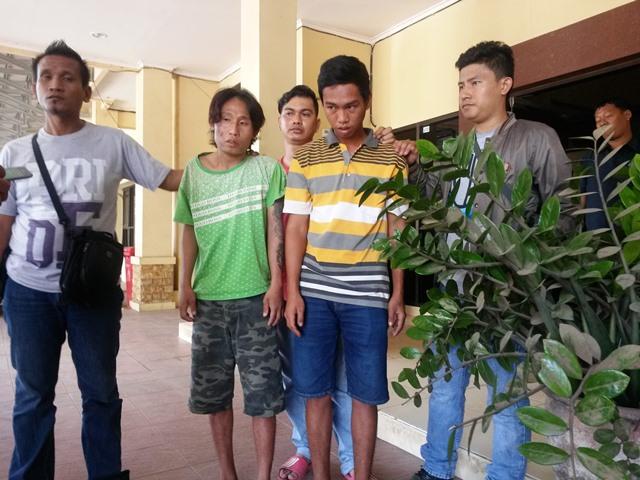 Maling Motor, Kakak dan Adik di ciduk Polisi
