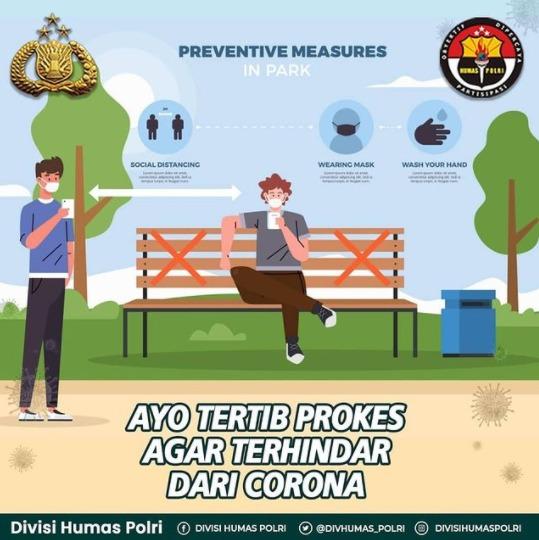 Disiplin Protokol Kesehatan Sama Dengan Mencegah Penularan Virus Corona