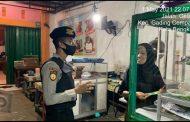Samapta Polda Bengkulu Patroli Malam Hari Tingkatkan Kesadaran  Masyarakat Prokes Covid-19