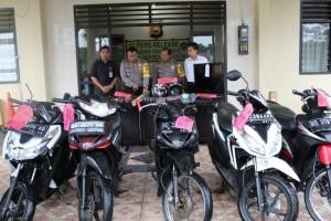 4 Motor, 9 Pelaku Kriminal Di Amankan