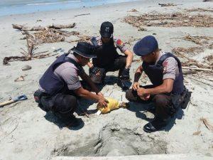 Mortir Temuan Nelayan Di Ledakkan Gegana