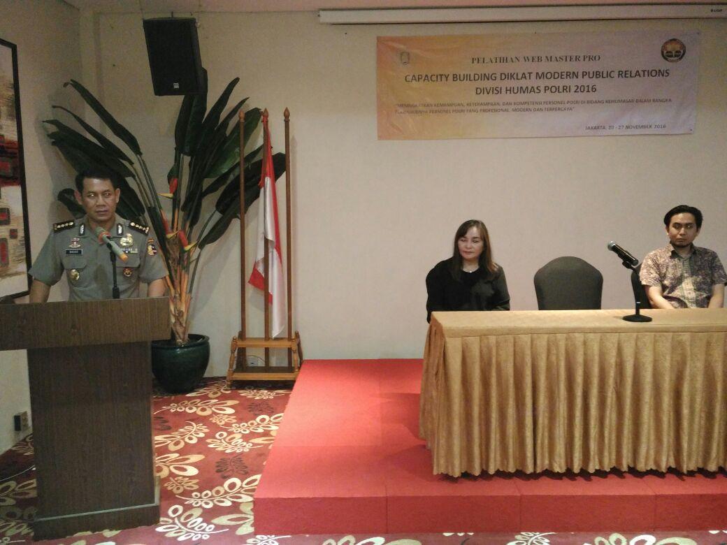 32 Personel Humas Se indonesia Ikuti Pelatihan Web Master Pro