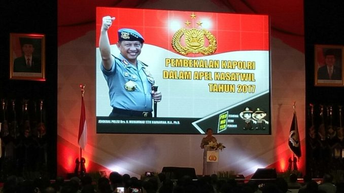 Kapolri Membuka Apel Kasatwil di Bumi Bhayangkara Akpol Semarang