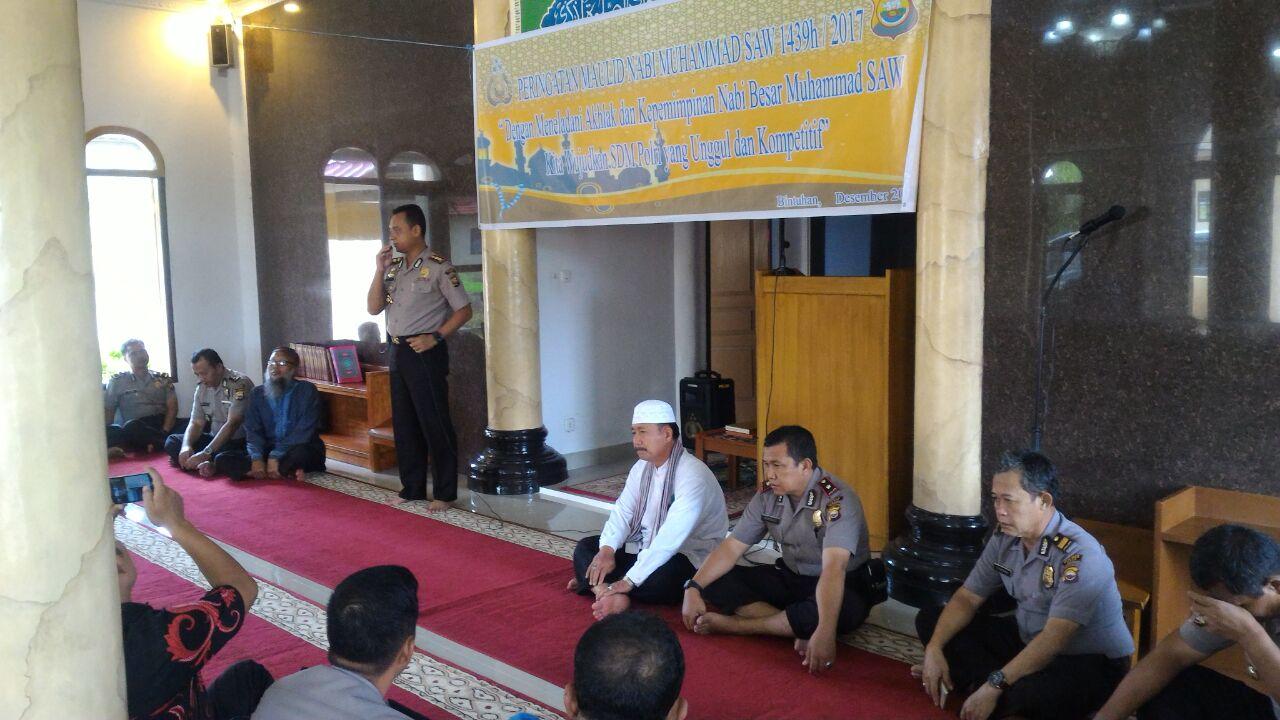 Polres Kaur laksanakan peringatan Maulid Nabi Muhammad SAW
