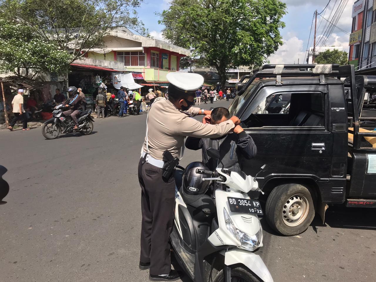 Baru Berjalan 5 Hari Ops Patuh Nala 2020,Polda Bengkulu dan Polres Jajaran Berikan 898 Tilang