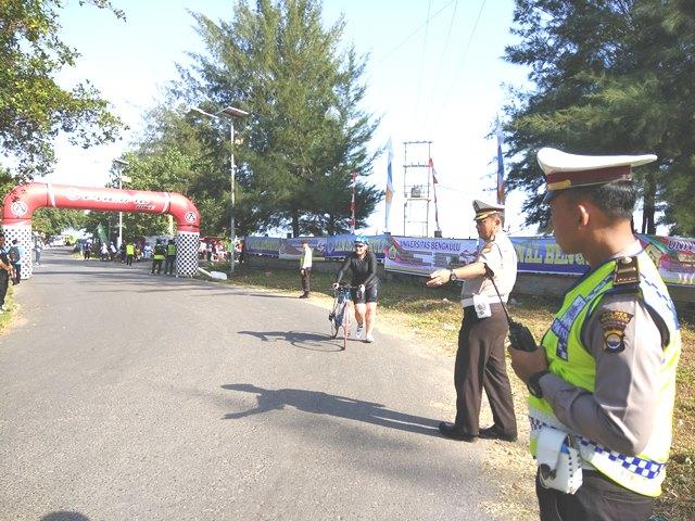 Bengkulu Triathlon 2017, Polres Bengkulu Kerahkan 158 Personil Lakukan Pengamanan