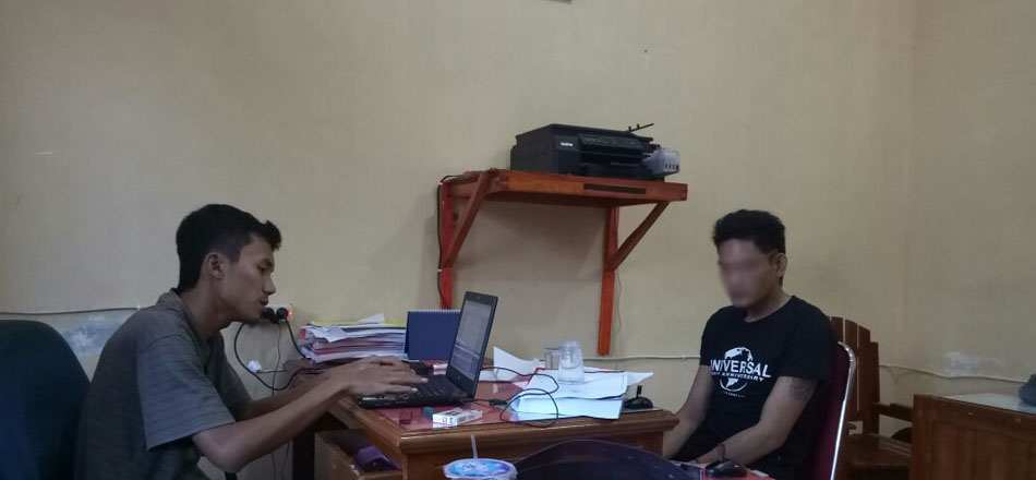 Sedang Berada Di Pantai Panjang,Terduga Pelaku Penganiayaan Anggota Dewan Seluma Diringkus