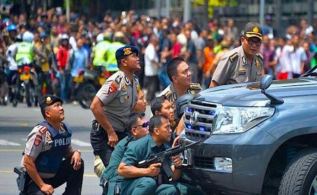 PBB dan Media Internasional Puji Quick Respons Polri Tangani Aksi Teror di Jalan Thamrin Jakpus