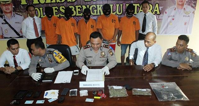 Ops Patuh Polisi Amankan Tsk Narkoba